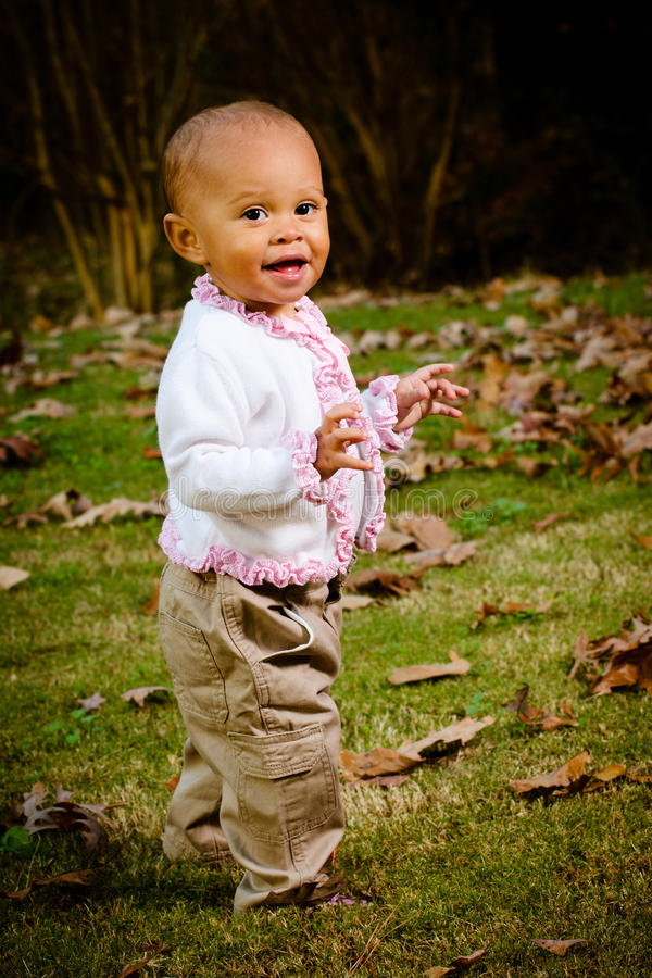 Портрет малыша афроамериканца стоковые изображения