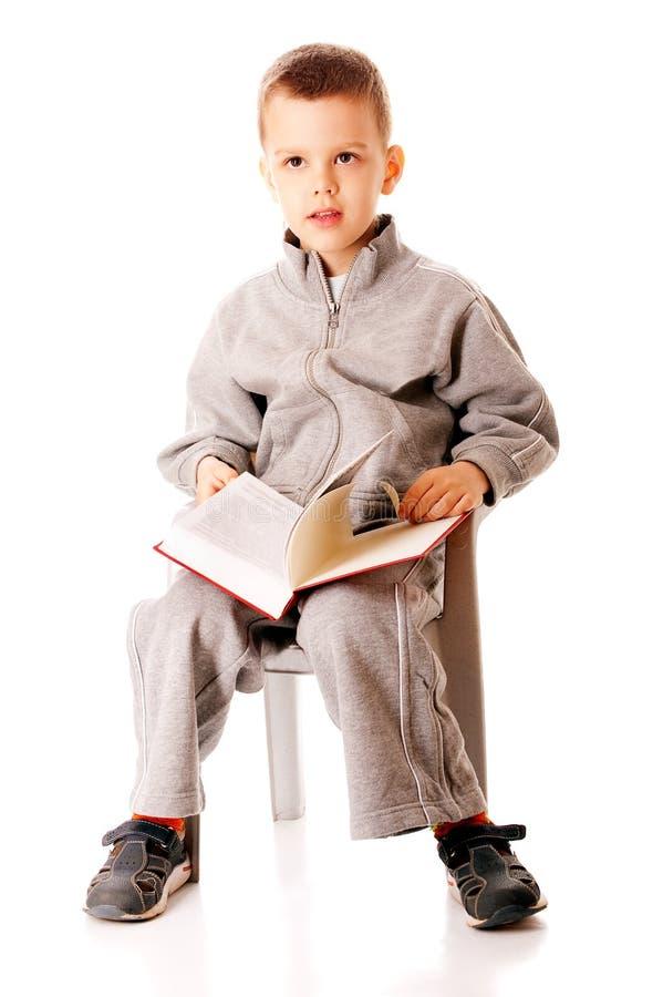 портрет мальчика малый стоковое изображение rf