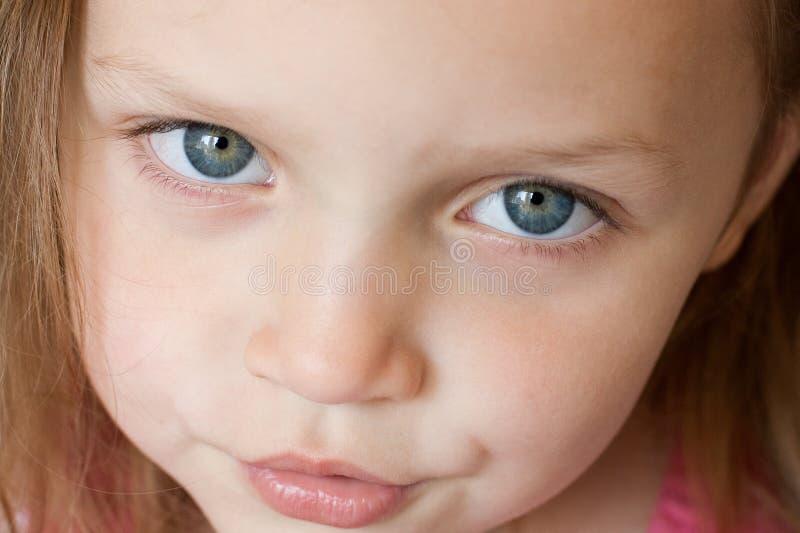 портрет маленькой девочки стоковое фото rf