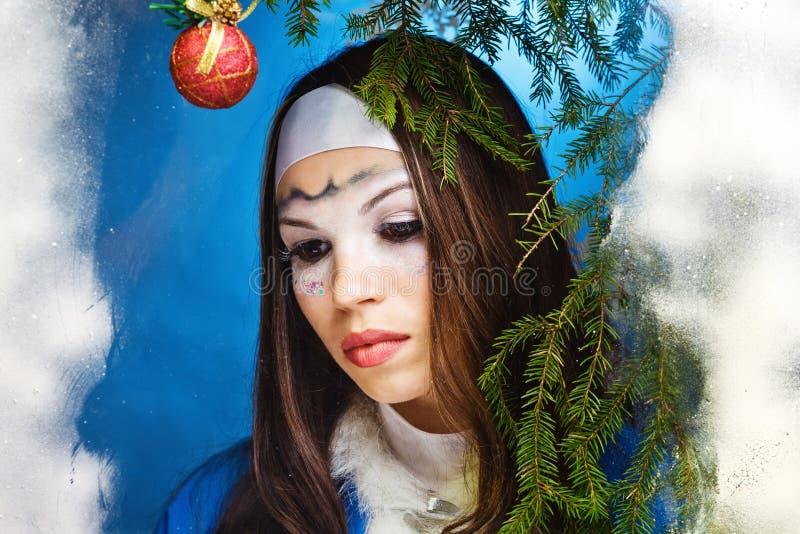 Портрет милой женщины стоковая фотография