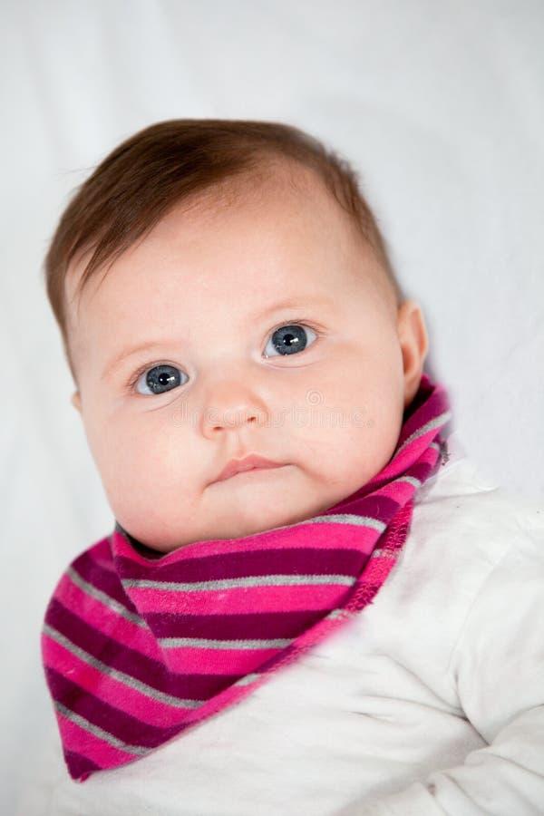 Портрет милого маленького младенца стоковая фотография rf