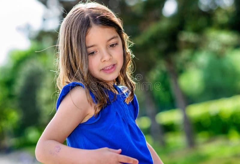 Портрет милого ребенка стоковая фотография rf