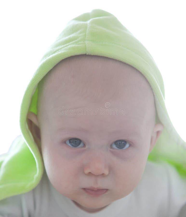 портрет младенца малый стоковая фотография rf