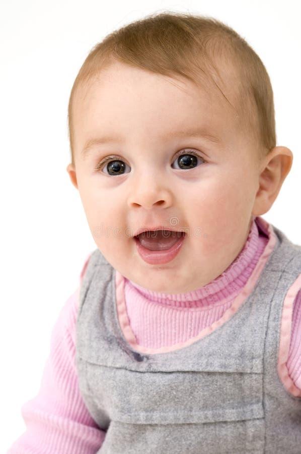 портрет младенца милый стоковое фото rf