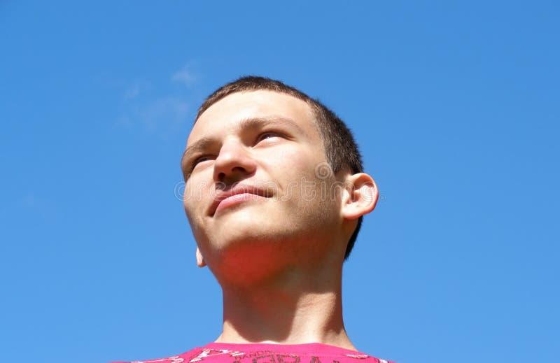 Портрет молодого парня стоковое изображение rf