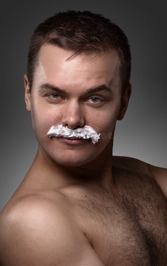 Портрет молодого сексуального человека стоковые фото