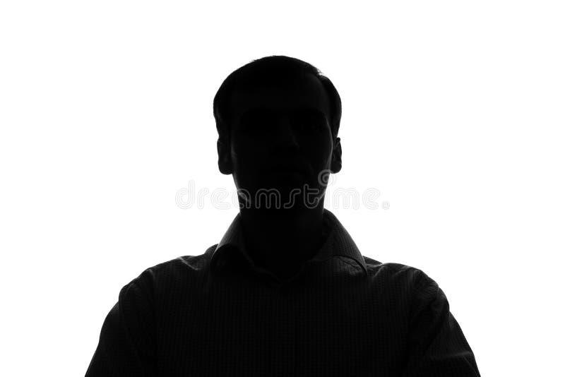 Портрет молодого человека в вид спереди стоковые фото