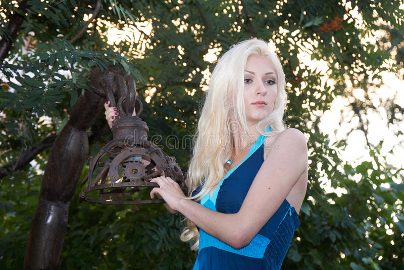 Портрет молодой дамы стоковая фотография