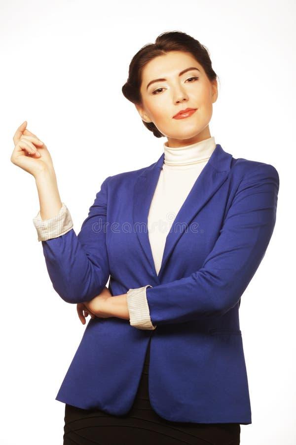 Download Портрет молодой бизнес-леди Стоковое Изображение - изображение насчитывающей состав, смотреть: 37926739