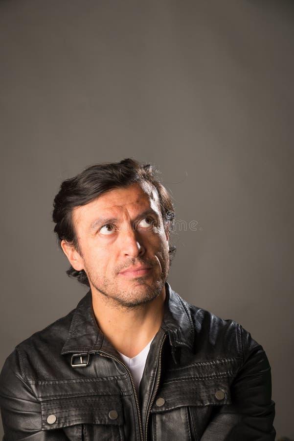 Портрет мужчины латиноамериканца стоковая фотография