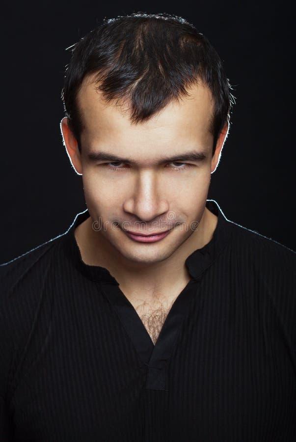 Портрет мудрого человека стоковое изображение