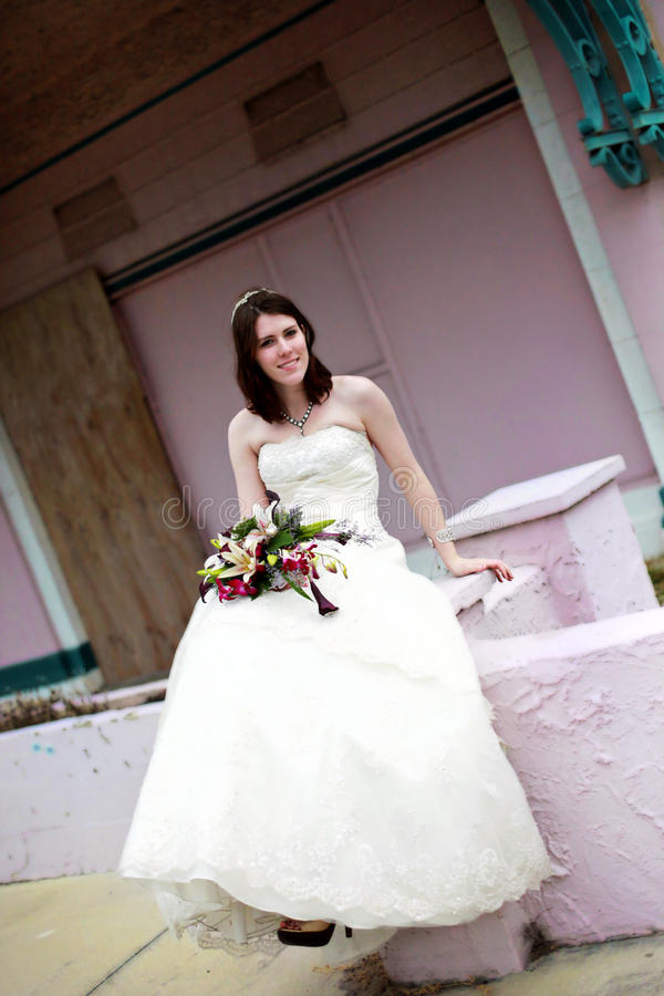 портрет невесты урбанский стоковые фото