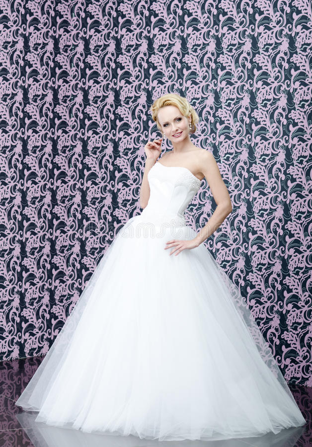 Портрет невесты стоковое фото rf