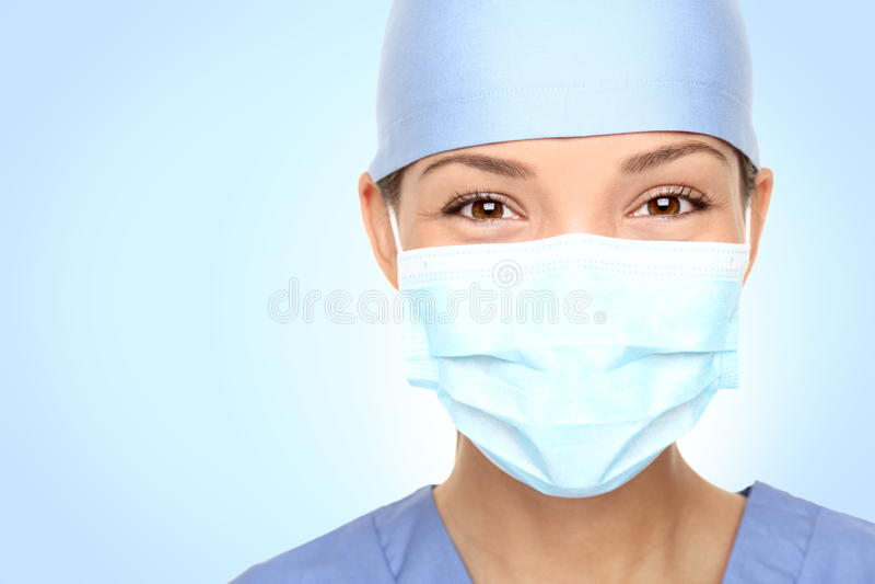 портрет нюни доктора стоковое изображение
