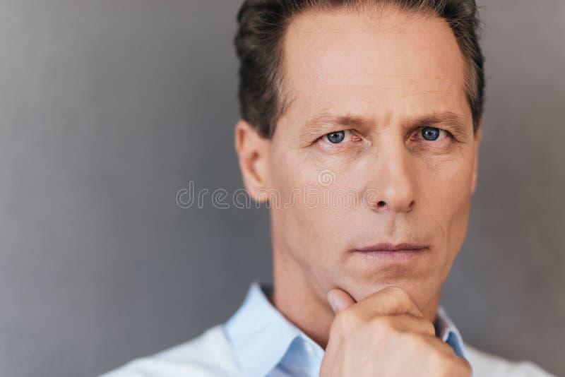 Портрет доверия стоковое изображение rf