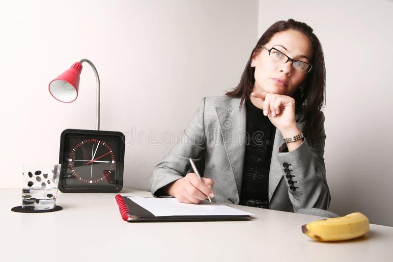 Портрет офиса стоковое изображение