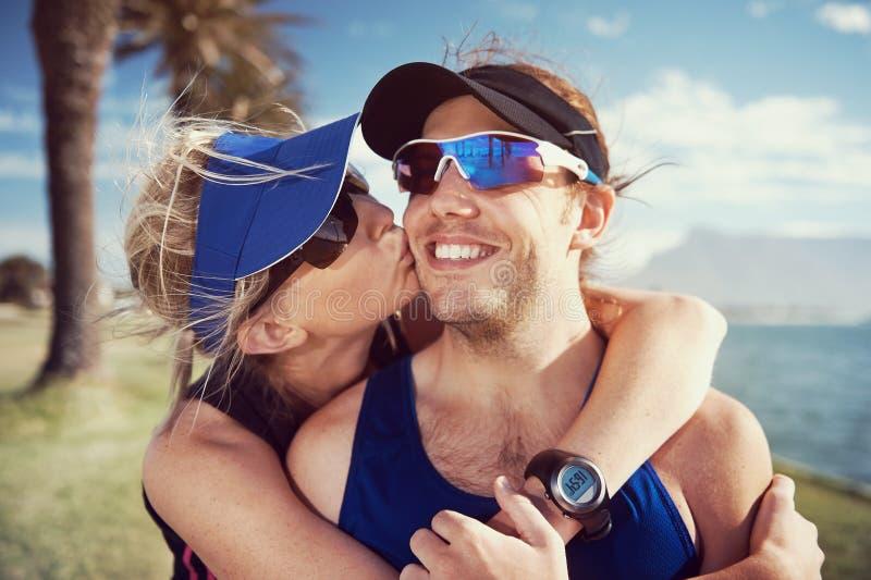 Download Портрет пар фитнеса стоковое фото. изображение насчитывающей счастливо - 40580016