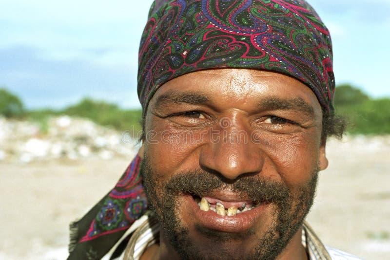 Портрет плохого человека Аргентины с больными зубами стоковые фотографии rf
