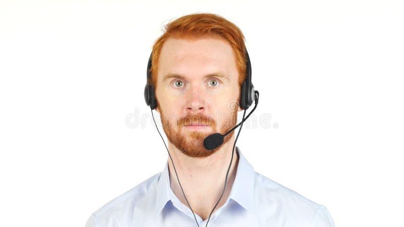 Портрет работы обслуживания клиента репрезентивной стоковые фото