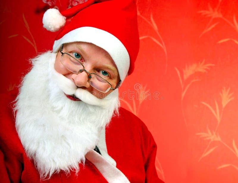 Портрет Санта Клауса стоковая фотография