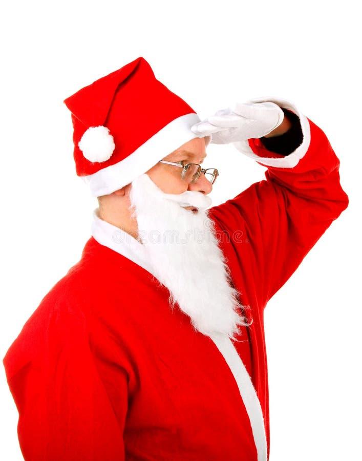 Портрет Санта Клауса стоковые изображения