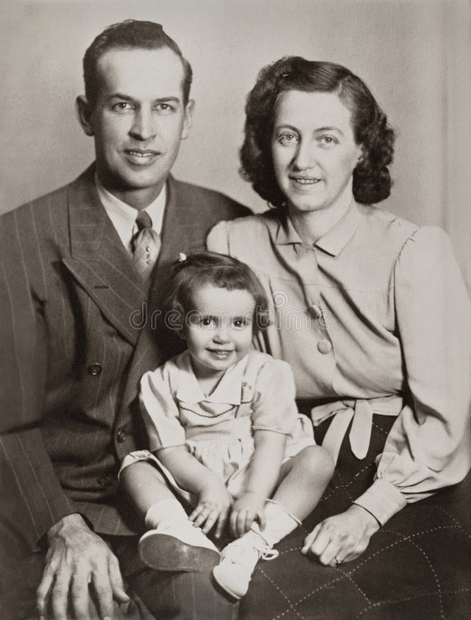 портрет семьи стоковая фотография rf