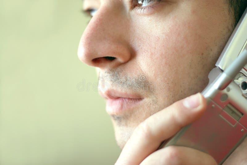 портрет сотового телефона стоковое изображение rf