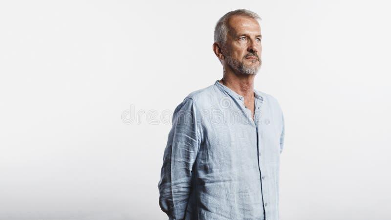 Портрет старшего человека стоковые фото