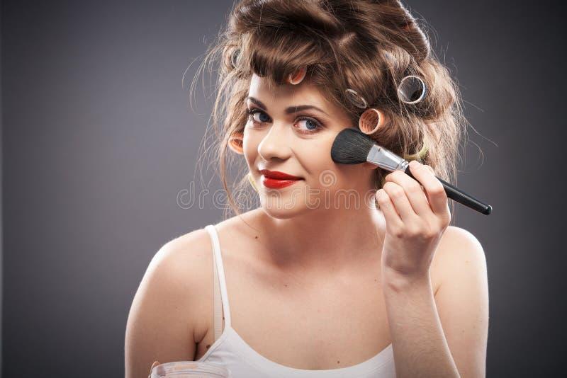 Портрет стиля красоты женщины стоковые фотографии rf