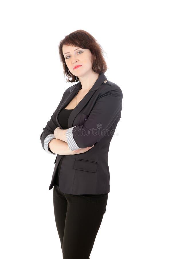 Портрет студии девушки стоковое изображение