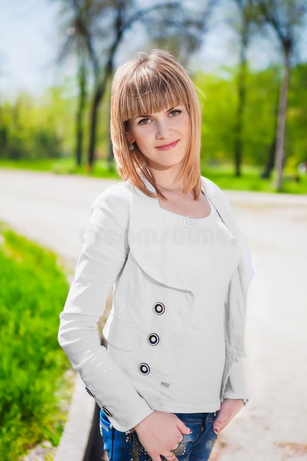 Портрет ся женщины стоковое изображение