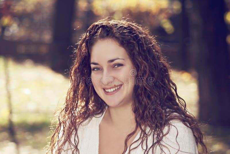 Портрет ся женщины стоковая фотография