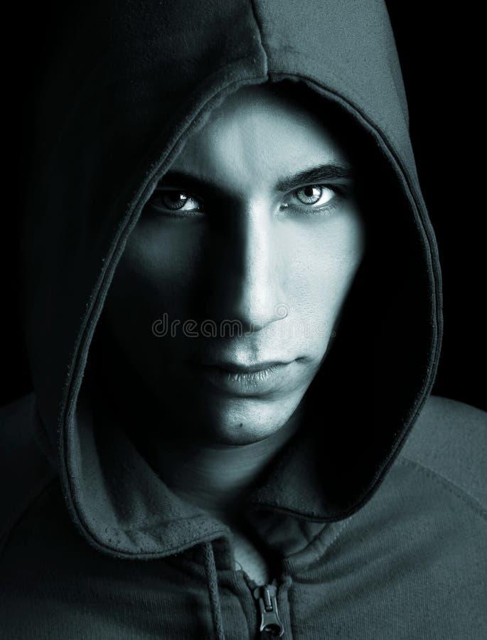 портрет человека способа стоковое фото