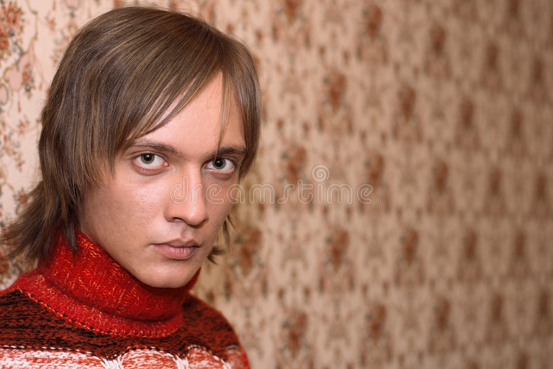 портрет человека стоковое изображение rf