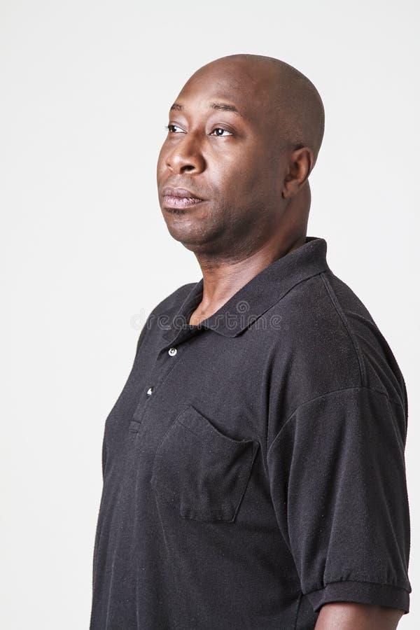 портрет чернокожего человек стоковое изображение