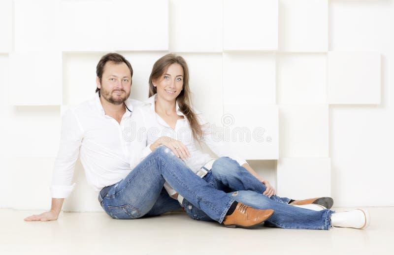 Портрет человека и женщины стоковые фото