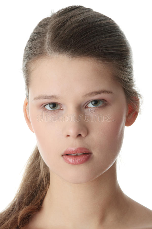 Портрет Close-up стоковое фото