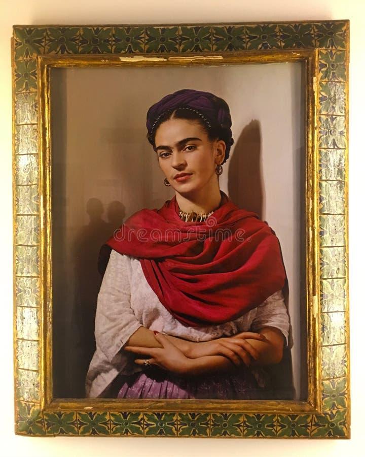 Портрет Frida Kahlo
