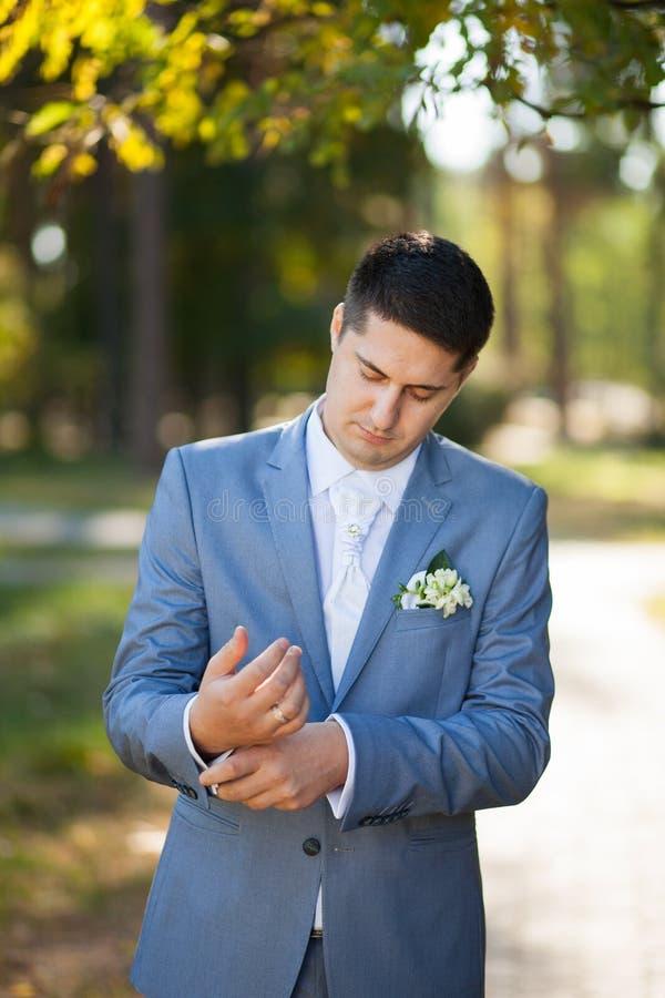 Портрет groom стоковая фотография