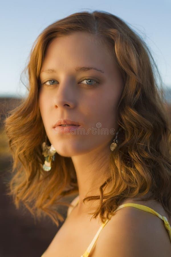 портрет katie стоковая фотография rf