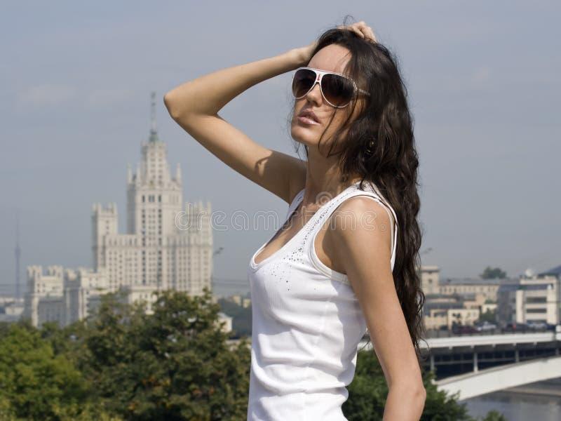 портрет moscow стоковая фотография rf