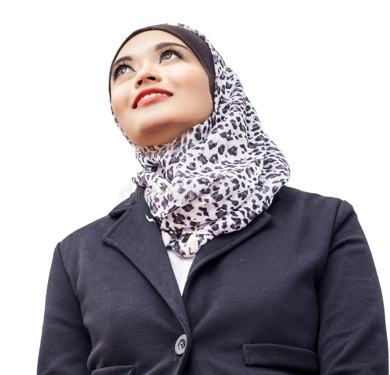 Портрет Muslimah стоковое фото