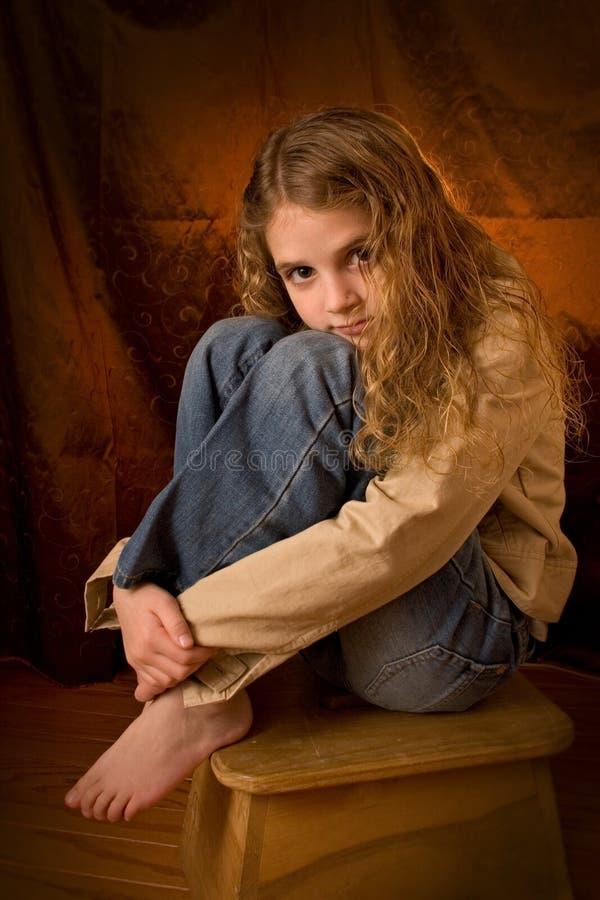 портрет pre предназначенный для подростков стоковые изображения