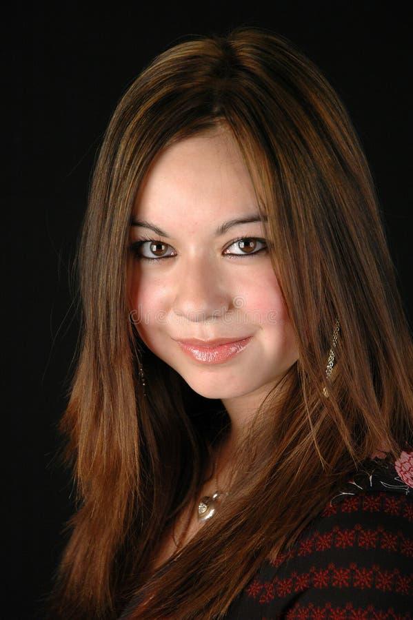 портрет s девушки стоковое изображение