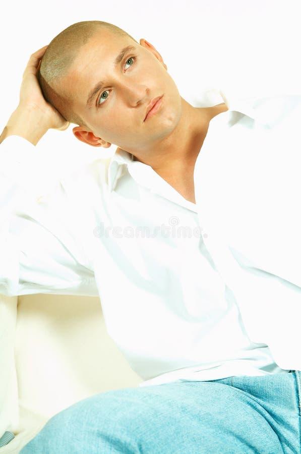 портрет s человека стоковая фотография rf