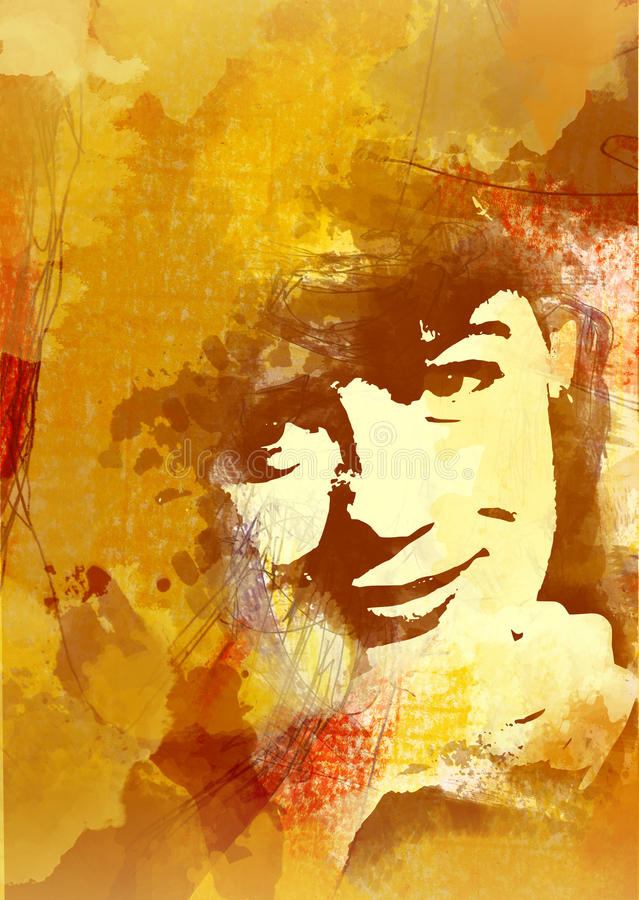 Портрет Womans стоковое фото rf