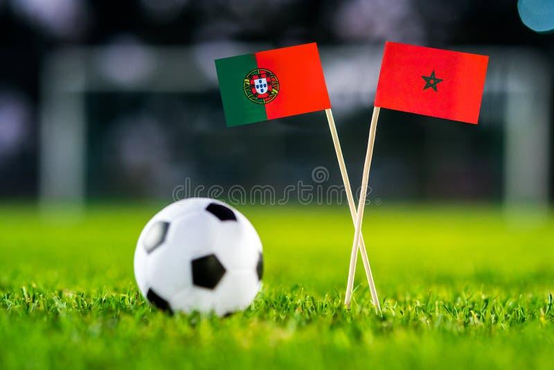 Португалия - Марокко, группа b, Wednesday, 20 Футбол -го июнь, Worl стоковое фото