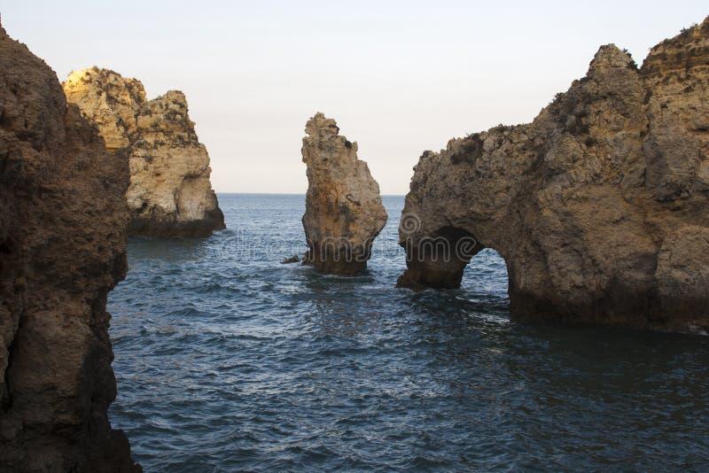 Португалия Ponta de pietade стоковое изображение