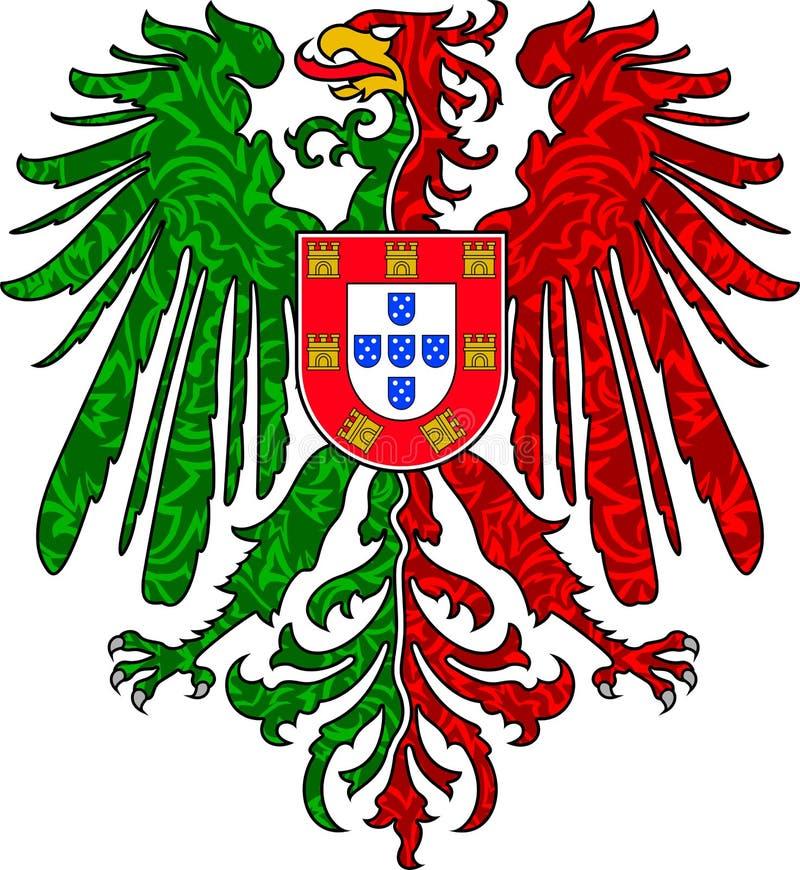 португалка орла стоковые фото