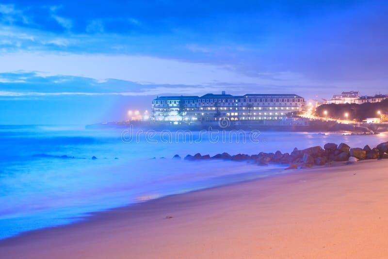 Португальский пляж стоковое изображение rf